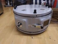 ITIMAT ELECTRICAL ROASTER WITH THERMOSTAT/GRILL ROUND OVEN SINGLE ENAMEL TRAY