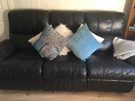 Recliners three seater and chair