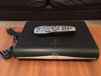 Sky + HD box plus remote control and cable