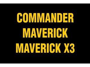 2018 Can-Am Commander Maverick  Maverick X3