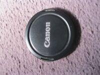 Canon Camera lens cap E-72mm