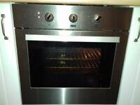 Zanussi single fan oven