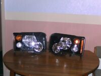 Land Rover Discovery Head Lights Series 2 Facelift and Finishers.