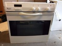 Whirlpool gas oven, hob & extractor. Removed from flat during refurb.