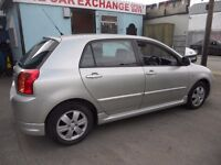 (AUTOMATIC)TOYOTA COROLLA COL-R VVTI.5 DOOR HATCHBACK..LOW MILEAGE....