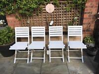 Small folding garden chairs