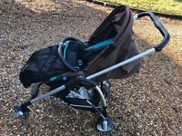 Bebe Confort Buggy and Carrycot/Car Seat - REDUCED PRICE - Hardly Used