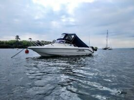 Excellent Speed Power Motor Boat (not RIB) 150hp Mercury Outboard with Trailer
