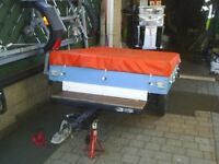 braked trailer approx 6x4 ft box suit quad <> grasscutter <> motorbikes <> car boot ext