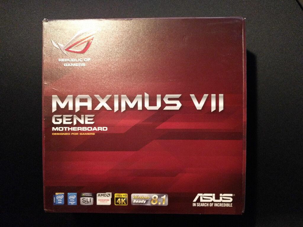 ASUS Maximus Gene VII Z97 mATX Mobo + Intel WiFi AC Card