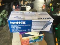 Original new brother TN-2000 toner