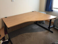 Large office desk for sale - like new