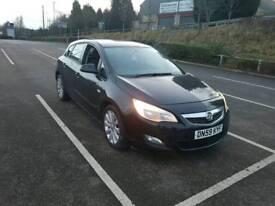 Vauxhall astra low mileage
