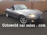 2005 Mazda mx5 icon 1.8 16v 150 bhp convertible ltd edition