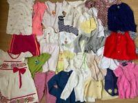 28x BABY CLOTHES baby grow toddler's dresses tops trousers bodysuit boy girl bulk job lot
