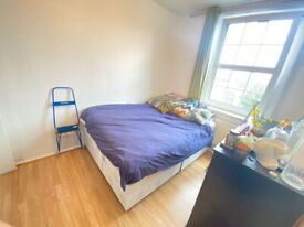 DOUBLE ROOM TO RENT ZONE 2 ( 2 MIN -BOW STATION AND 5MIN MILE END STATION)