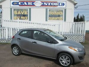 2011 Mazda MAZDA2 GX AUTO!! AC!! POWER LOCKS AND WNDOWS!!