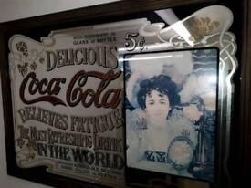 Mirror coca cola