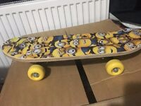 Despicable Me Minion 4+ years Skateboard