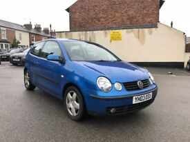 Vw Polo 1.4tdi full service history