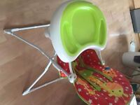 Mother Care high Chair 10 pounds