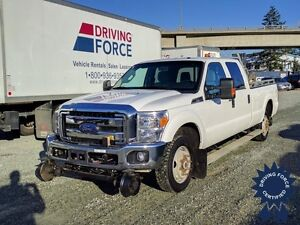 2014 Ford Super Duty F-350 SRW XLT 4x4 Hi-Rail - 47,756 KMs