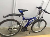 A SCEPTRE CHALLENGE FULL SUSPENSION MOUNTAIN BIKE BICYCLE
