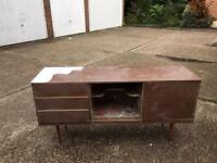 Vintage sideboard for restoration