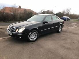 55 PLATE MERCEDES E200 CDI- AUTOMATIC GEARBOX-COMES WITH FULL YEAR MOT + FRESH SERVICE+ WARRANTY