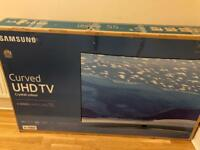 "Samsung 55"" 4k Curved UHD HDR Smart TV - Brand New"
