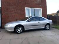 Peugeot 406 silver coupe