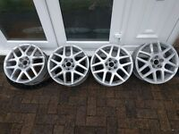 "16"" inch Mk 4 Golf GTi BBS VW Volkswagen Audi Skoda Seat Montreal 2 II alloys alloy wheels for sale"