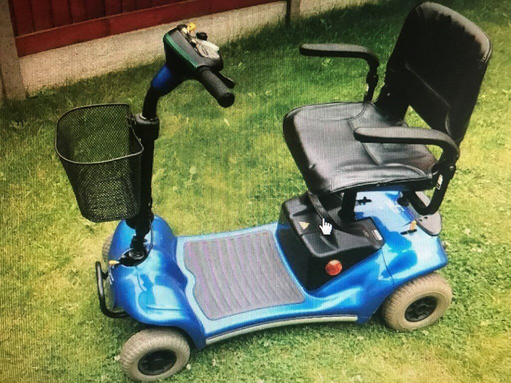boot sized mobility scooter