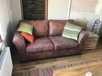 3-piece leather suite / sofa for sale, from M&S - £500