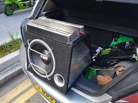 Bass box and amp