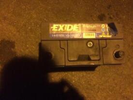 Exide battery for a honda