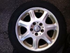 16 INCHES MERCEDES WINTER PACKAGE,5X112 REPLICA RIM'S WITH 205/55R16 GISLAVED NORD FROST WINTER TIRES USED FOR SALE
