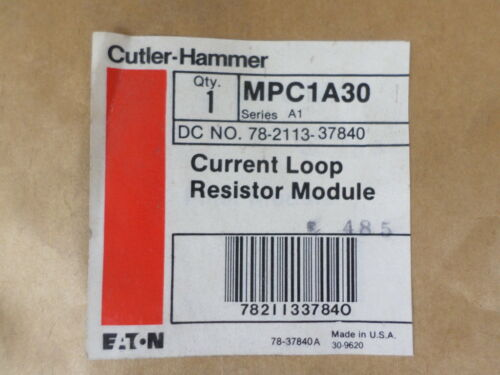 Cutler-Hammer MPC1A30 Current Loop Resistor Module