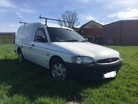 Ford Escort Van 1.8D, Low miles 65k,Full MOT, X3 professional dead locks.