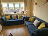 2 Sofas 3 seats for sale