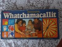 WHATCHAMACALLIT BOARD GAME - VINTAGE