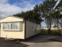 Brand New Willerby Mistral 2 bedrooms sited on North Wales coast - includes site fees!