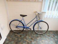 Ladies vintage restored bicycle