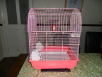 For Sale Pink Bird Cage