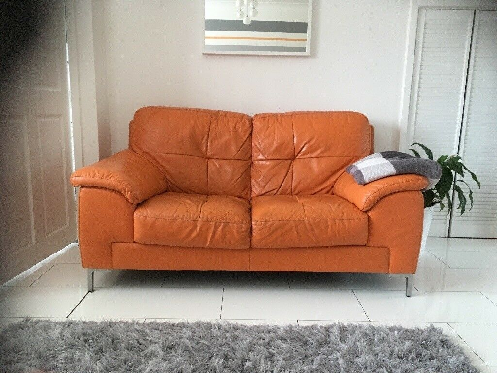 loveseat beige sofa almond couch leather gf ss orange set pc and product