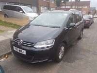 Volkswagen Sharan 2011 2.0 TDI BlueMotion Tech - PCO LICENSED - LOW MILEAGE