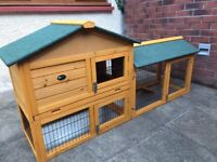 Brand new rabbit hutch and cover