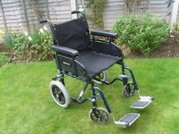 WHEELCHAIR (FOLDS COMPACT FOR CAR BOOT)