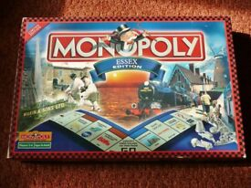 Monopoly Essex Edition Board Game The Property Trading Board Game