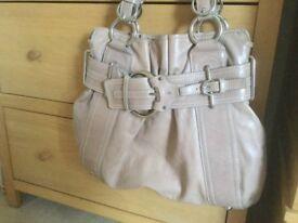 Karen millen genuine leather bag